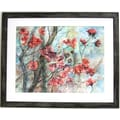 32in. x 38 1/2in. Premier Cherry Tree in Bloom Wall Art, Gray