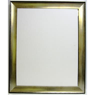 41in. x 29in. Transitions Wall Mirror, Silver