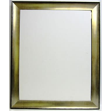 41in. x 29in. Beveled Transitions Wall Mirror, Silver