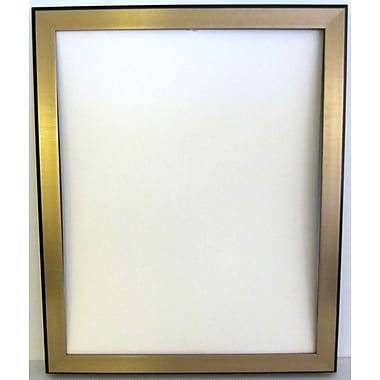 40in. x 28in. Bellport Frame Wall Mirror, Gold