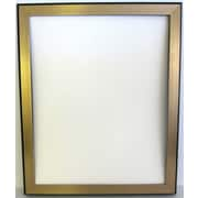 "40"" x 28"" Bellport Frame Wall Mirror, Gold"