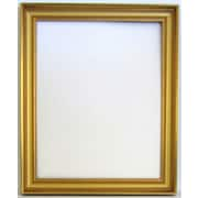 41 3/4 x 29 3/4 Beveled Brilliant Collection Frame Wall Mirror, Gold