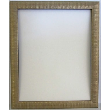 Beveled Radiant Collection Wall Mirror, Gold, 40 1/4in. x 28 1/4in.