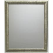 Radiant Collection Wall Mirror, Silver, 40 1/4 x 28 1/4