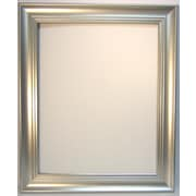 "42 1/4"" x 30 1/4"" Waterfall Collection Wall Mirror, Silver"