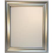 42 1/4 x 30 1/4 Beveled Waterfall Collection Wall Mirror, Silver