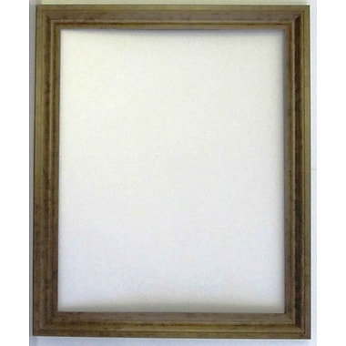 Beveled Splendor Collection Scoop Frame Wall Mirror, Gold, 40 1/4in. x 28 1/4in.