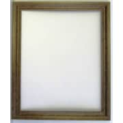 Beveled Splendor Collection Scoop Frame Wall Mirror, Gold, 40 1/4 x 28 1/4