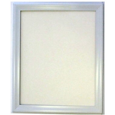 Lakeside Collection Frame Wall Mirror, White, 40 1/4in. x 28 1/4in.