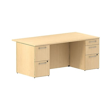 Bush 300 Series Double Pedestal Desk, 71.1