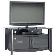 Bush Furniture Aero TV Stand, fits up to 50-inch TV, Classic Black