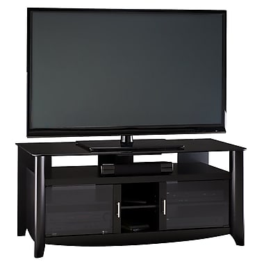Bush Furniture Aero 56 Inch TV Stand, Classic Black (MY16960-03)