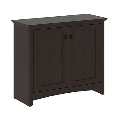 Bush Furniture Buena Vista 2 Door Low Storage, Madison Cherry (MY13896-03)