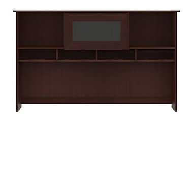 Bush Furniture Cabot 60W Hutch, Harvest Cherry