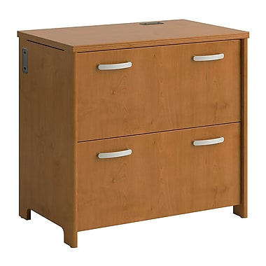 Bush Envoy 2-Drawer Lateral File, Natural Cherry