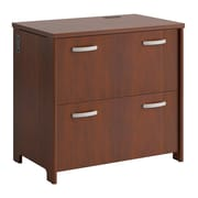Bush Business Furniture Envoy 32W 2 Drawer Lateral File Cabinet, Hansen Cherry (PR76554)