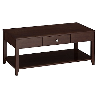 Bush kathy ireland Grand Expressions Coffee Table Warm Molasses