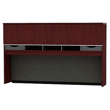 Bush Business Furniture Milano2 72W Credenza Hutch, Harvest Cherry (50HC72CS)