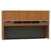 Bush Milano2 72W Credenza Hutch, Golden Anigre, Fully Assembled