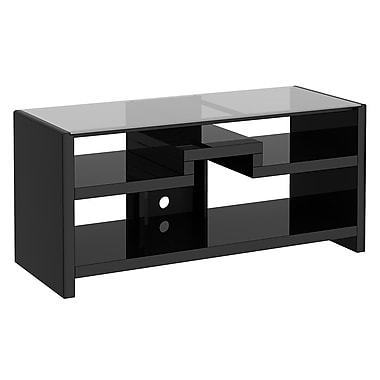 kathy Ireland by Bush NYS 3-in-1 Gaming Center / TV Stand, Modern Mocha