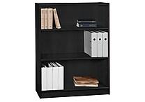 Bush Universal Bookcases 48' Bookcase, Classic Black
