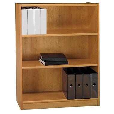 Bush Furniture Universal 48H Bookcase, Snow Maple