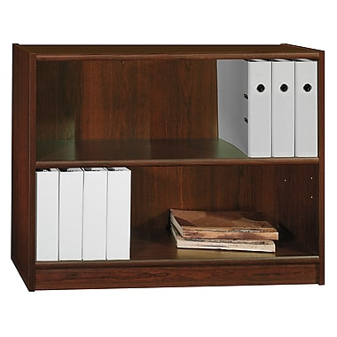 Bush Furniture Universal 30H Bookcase, Vogue Cherry