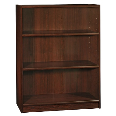 Bush 3-Shelf Bookcase, Vogue Cherry