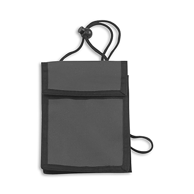 IDville 1346667BK31 Expandable Badge Holders, Black, 25/Pack