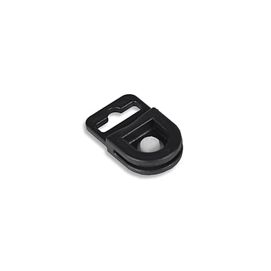 IDville 134118831 ID Badge Gripper, Black, 50/Pack