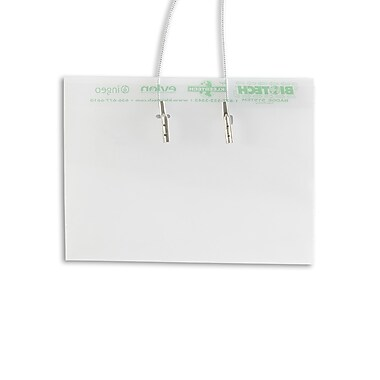 IDville® Biodegradable Badge Holder With Cord