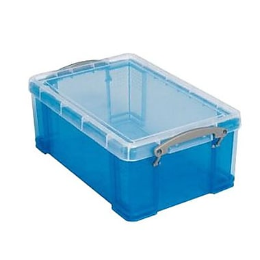 Really Useful 9 Liter Storage Box, Blue