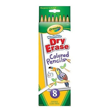 Crayola® Washable Dry Erase Pencil, Assorted