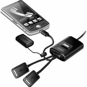 Staples® USB 2.0 4-Port Mobile Flex Travel Hub