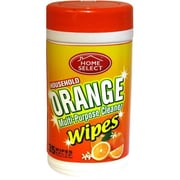 Home Select Multi-Purpose Wipes, Orange