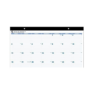 2014 AT-A-GLANCE® Desk Pad, 24in. x 19in.