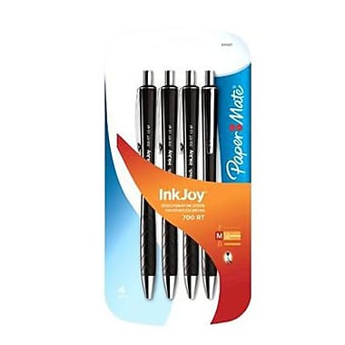 Inkjoy 1 mm Retractable Ballpoint Pen, Black