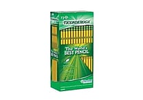 Dixon Ticonderoga #2 Soft Pencil, Yellow, 72/Pack
