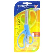 "Westcott® 13168/Kids Value Scissors with Blunt Tip, 5"", Assorted Colors, 2 Pack"