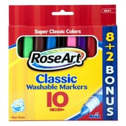 RoseArt® Classic Washable Broad Markers, Assorted
