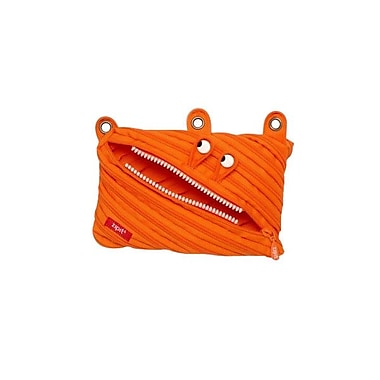 Zipit® Monsters 3 Ring Binder Pouch, Orange