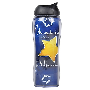 Baudville® No Spill Travel Mug, Making the Difference