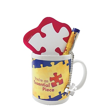 Baudville® Celebration Mug Gift Set, Essential Piece
