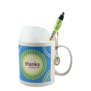 Baudville® Celebration Mug Gift Set, Thanks for All You Do!