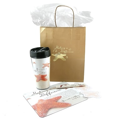 Baudville® Desktop Essentials Gift Set, Starfish: Making a Difference