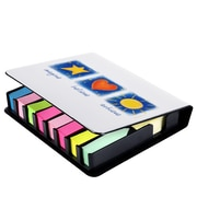 Baudville® Full-Color Flip Top Sticky Note Holders With Calendar