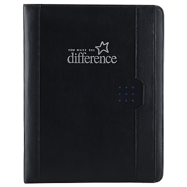 Baudville® Portfolio With Notepad, You Make the Difference