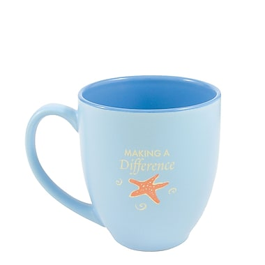 Baudville® Bistro Cafe Mug, Starfish: Making a Difference