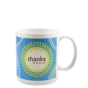 Baudville® Full-Color Coffee Mug, Thanks for All You Do!
