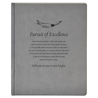 Baudville® Notepad Holder, Pursuit of Excellence